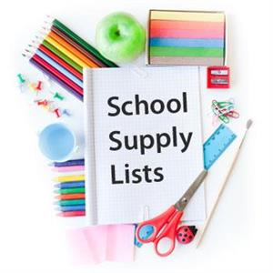 2019 - 2020 Suggested Supply Lists