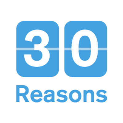 30 reasons flip sign