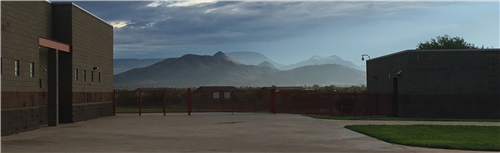 Photo of Desert Mountain Campus facing North towards Tonto National Forest