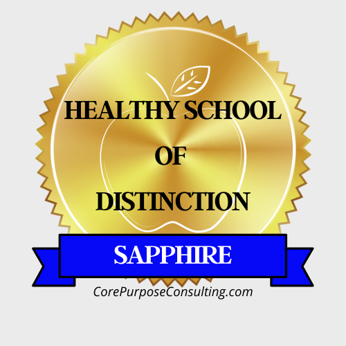 2020 Healthy School of Distinction Sapphire Award