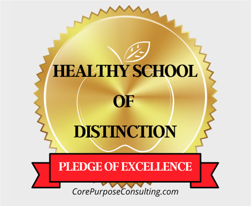 2019 Healthy School of Distinction Pledge of Excellence