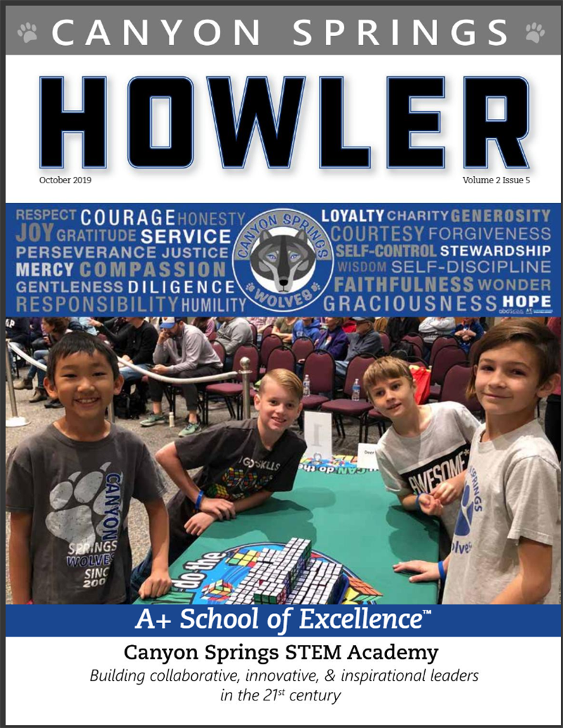 Check out the CS Magazine, The Howler