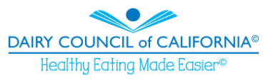 Link to Dairy Council of California