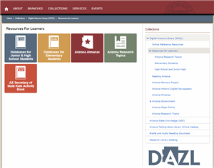 Deer Valley Unified School District is providing each student with an incredible research tool, free access to the Arizona State research databases.