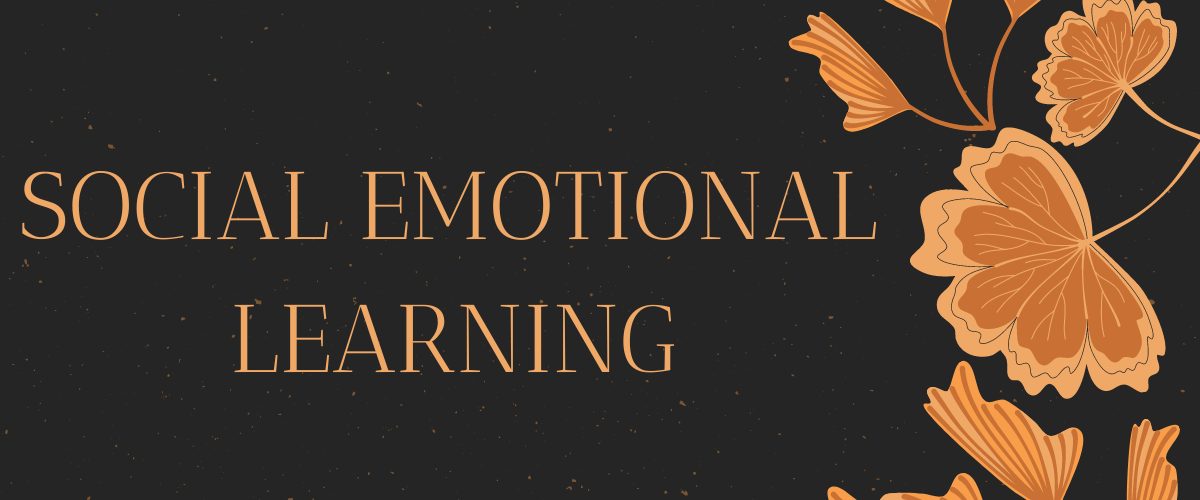 Social Emotional Learning logo with flowers