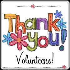Thank you volunteers.