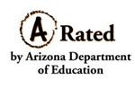 A rated logo from Department of Education
