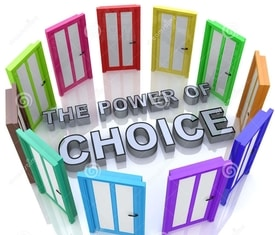 power of choice with open doors