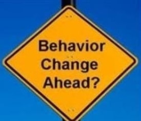 behavior change sign