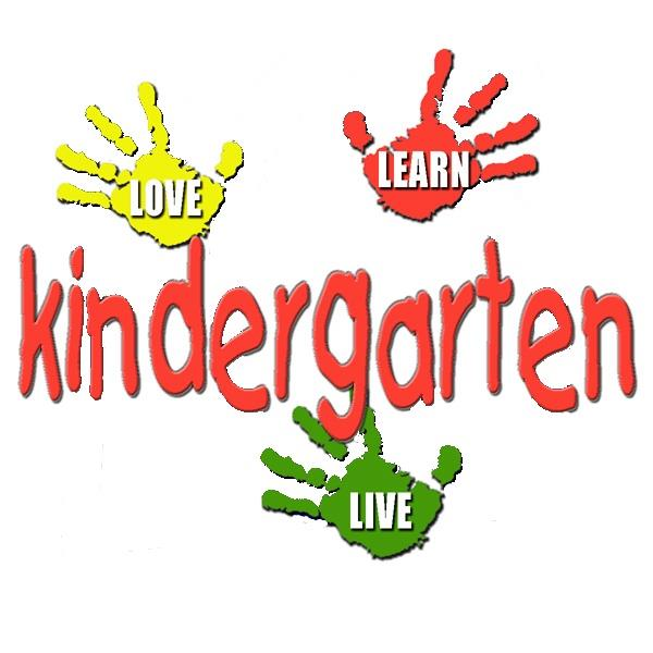 Kindergarten hands art