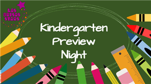 Do you have an incoming Kindergarten Star?