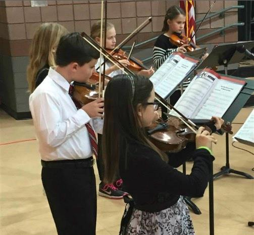 Violin concert in music