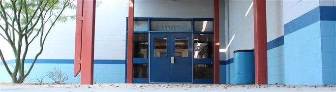 DVHS Library Entrance