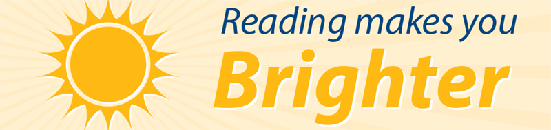 reading makes you brighter!