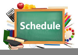 Grade Level Schedules: Online Learning
