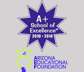 A+ School of Excellence logo