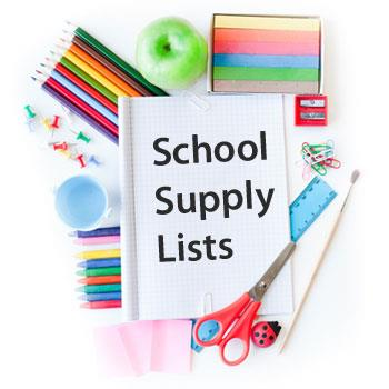 19-20 School Supply List