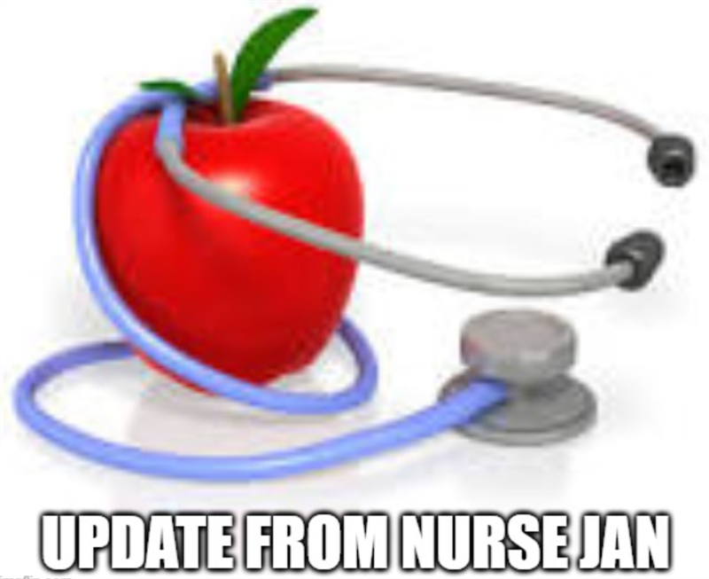 Update from Nurse Jan