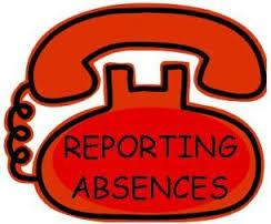 Reporting Absences with a telephone