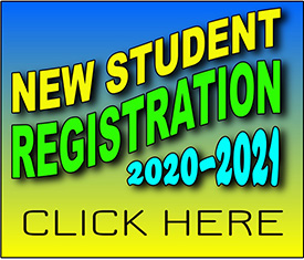 New Student Registration 2020-2021