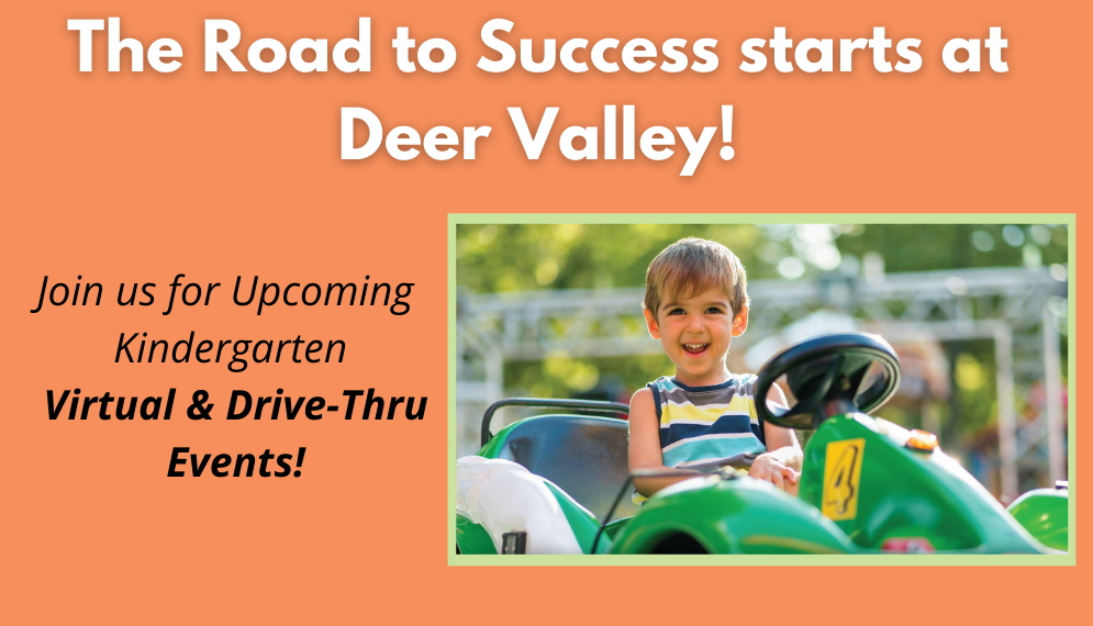 Join DVUSD At the Road to Kinder Drive Thru Event Thurs., March 4!
