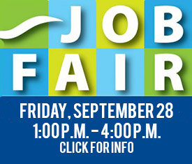 Job Fair September 28, 2018