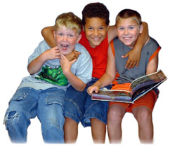 picture of kids reading