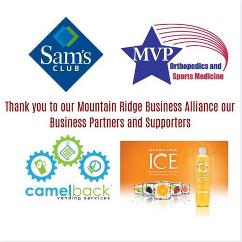 Thank you business sponsors
