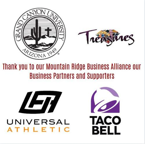 Thank you business sponsors!