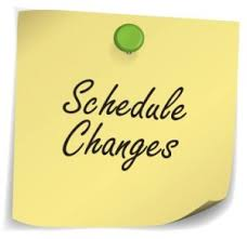 Need a schedule change?