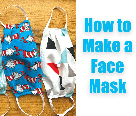 How to make a homemade mask