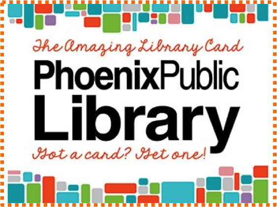 Phoenix Library Card Link