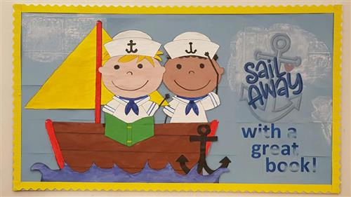 Sail Away Bulletin Board