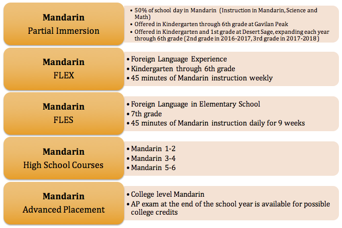 Mandarin Immersion Courses