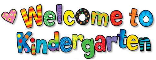 Image result for welcome to kindergarten images
