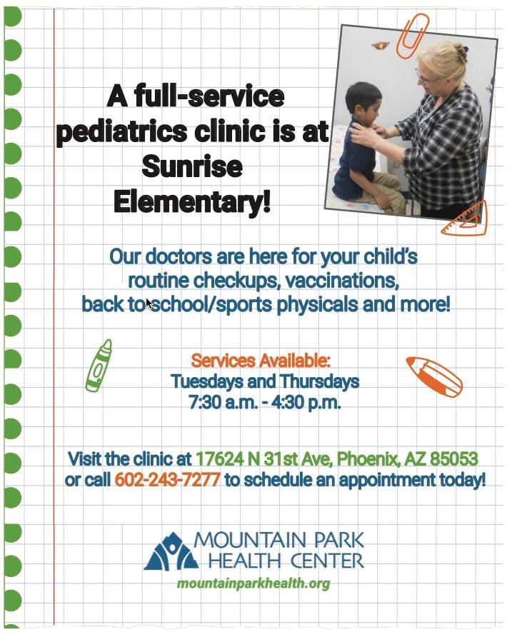 Sunrise Mountain Park Health Center