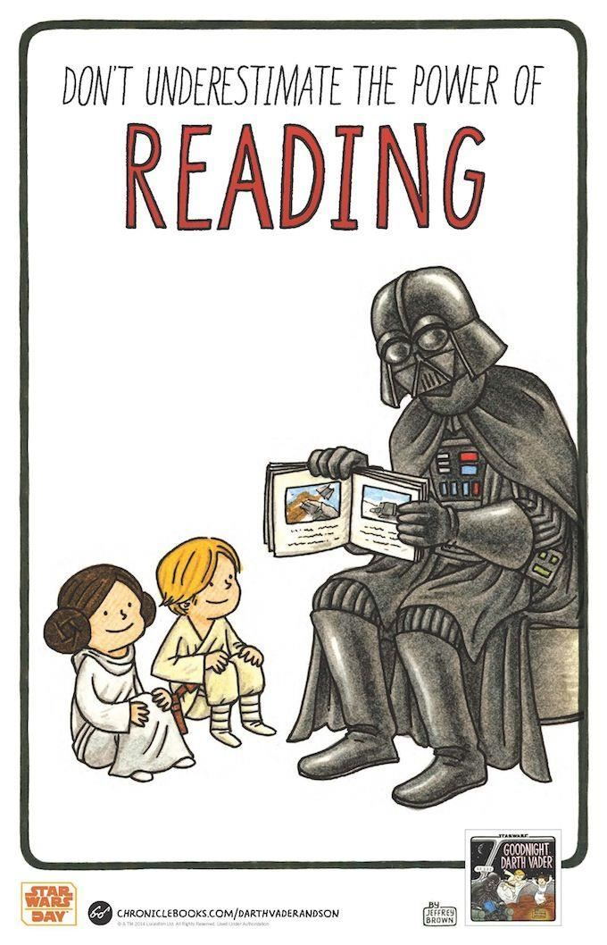 Star Wars Reading Poster