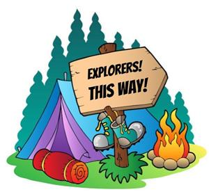 Explorers this way!