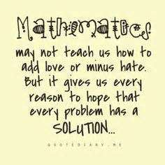 Math Quote