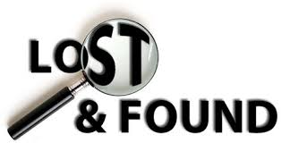 Please check the lost and found for lost items.