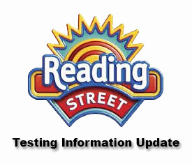Changes to Reading Street Testing Update