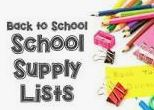 Click here for the supply lists for the upcoming year.