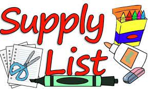 In case you want to get a jump on school supplies, here are the lists for next year.