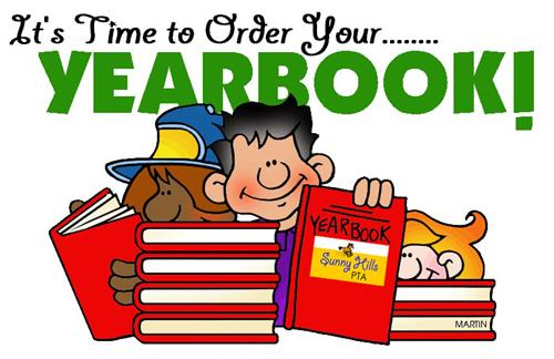 time to order yearbook