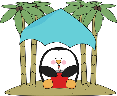 Penguin on an Island