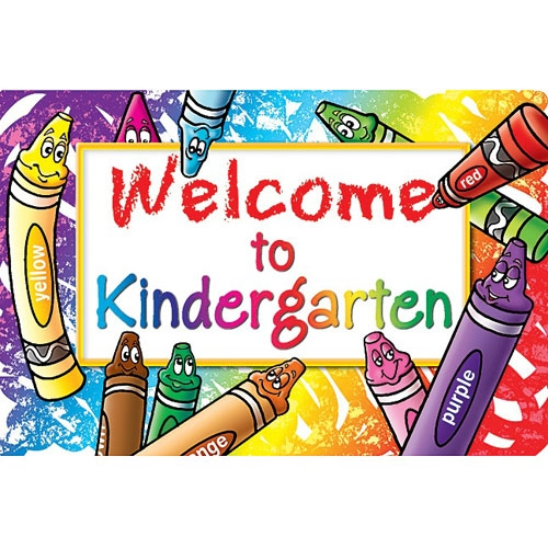 Welcome to Kindergarten sign