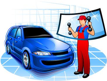 picture of auto glass repair