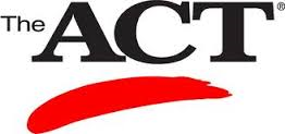 ACT image with red stripe