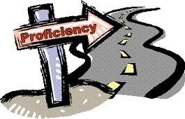 Our goal is proficiency