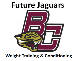 Boulder Creek Future Jaguars Summer Weight Training & Conditioning